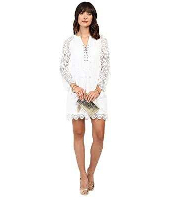 9c09bf0f2c677d Lilly Pulitzer Women's Sea Isle Dress Resort White Scalloped Shell Dress at  Amazon Women's Clothing store: