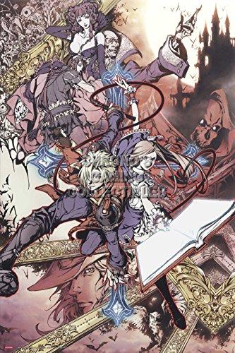 CGC Huge Poster - Castlevania Portrait of Ruin Nintendo DS -
