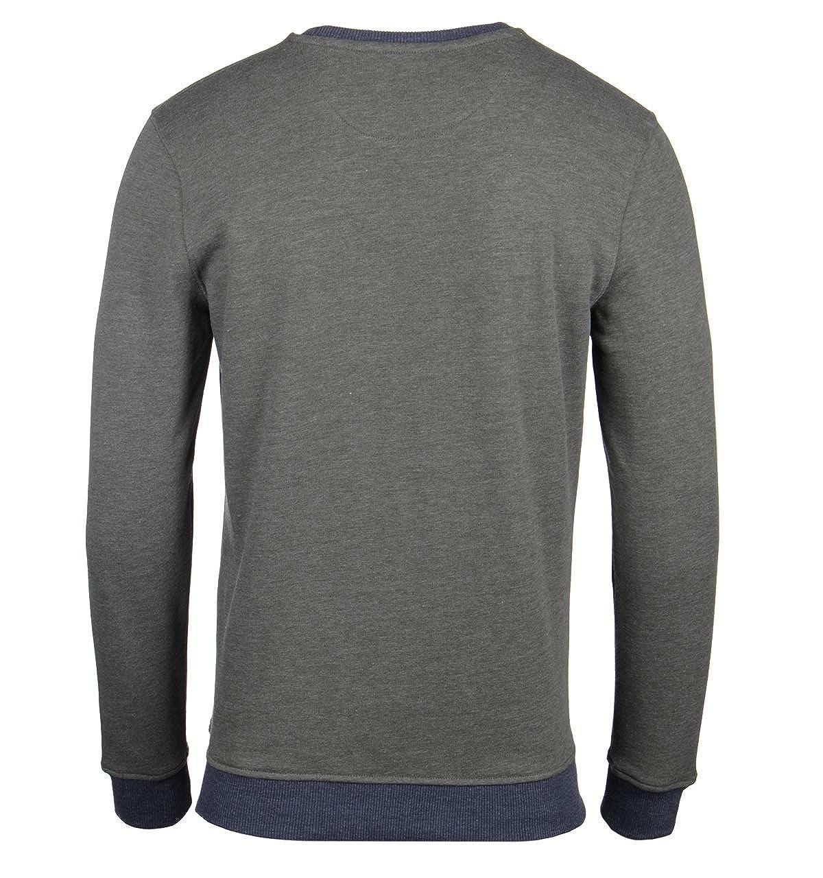 Lyle /& Scott Sage Green Crew Neck Sweatshirt
