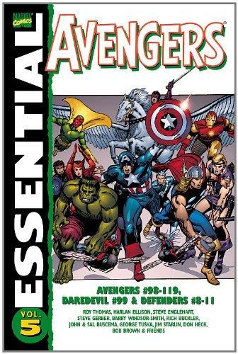 Essential Avengers, Vol. 5 (Marvel Essentials)