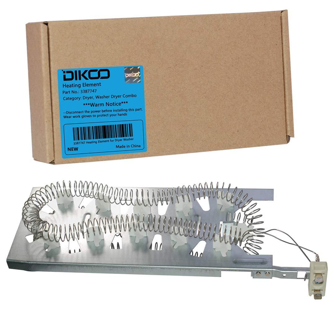 Amazon.com: DIKOO 3387747 Dryer Heating Element for ... on