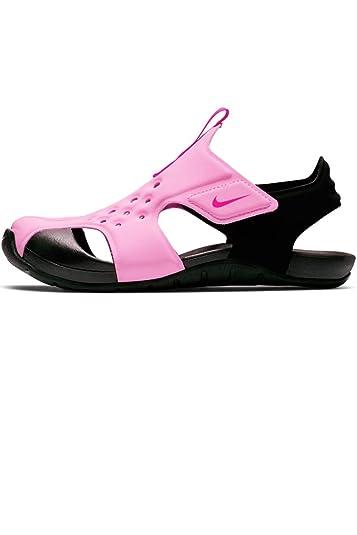 18adf0d72dbe Nike Boy s Sunray Protect 2 (PS) Pre School Sandal Psychic Pink Laser  Fuchsia