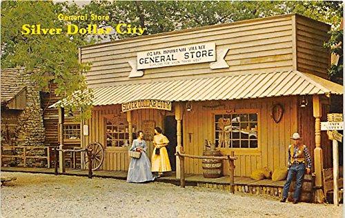 General Store, Silver Dollar City Branson, Missouri, MO, USA Postcard Post - Mo In Stores Branson