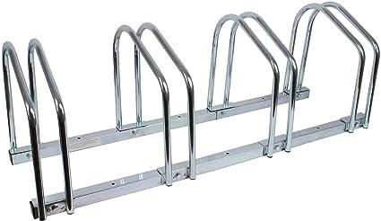 Aufstellständer Fahrradständer Fahrradhalter Stahl Ständer für 4 Fahrräder