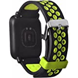 Tabcover for Xiaomi Amazfit Cinturino,20mm Soft Silicone Sport Replacement Strap Cinturino for Xiaomi Huami Amazfit Bip Younth smart watch