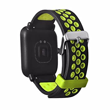 Tabcover for Xiaomi Amazfit bands,20mm Soft Silicone Sport ...