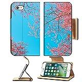 Luxlady Premium Apple iPhone 7 Flip Pu Leather Wallet Case iPhone7 IMAGE 35768668 Chiangmai Thailand wild himalayan cherry prunus cerasoides like sakura