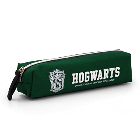 fbacb27b6a Karactermania Harry Potter Slytherin-Square HS Pencil Case Astuccio, 22 cm,  Verde (