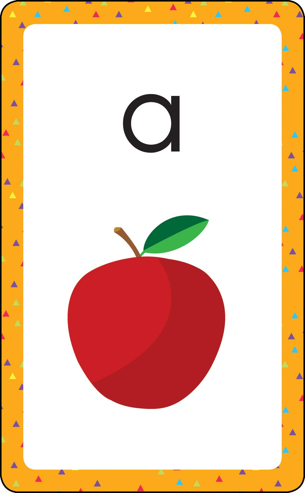 Amazon.com: Carson Dellosa - Alphabet Flash Cards - 54 Cards ...