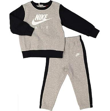 2b70a43d8f NIKE 2-Piece Tracksuit Set boy/Girl Unisex GREY BLACK SWEATSHIRT JOGGERS  Size 18-24 Months: Amazon.co.uk: Clothing