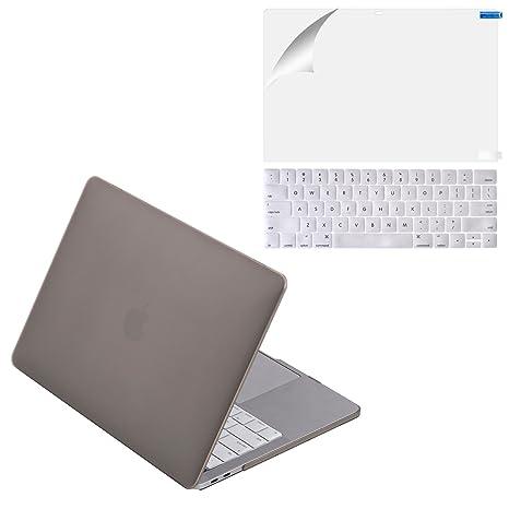 Amazon.com: mittly carcasa rígida de plástico para Macbook ...