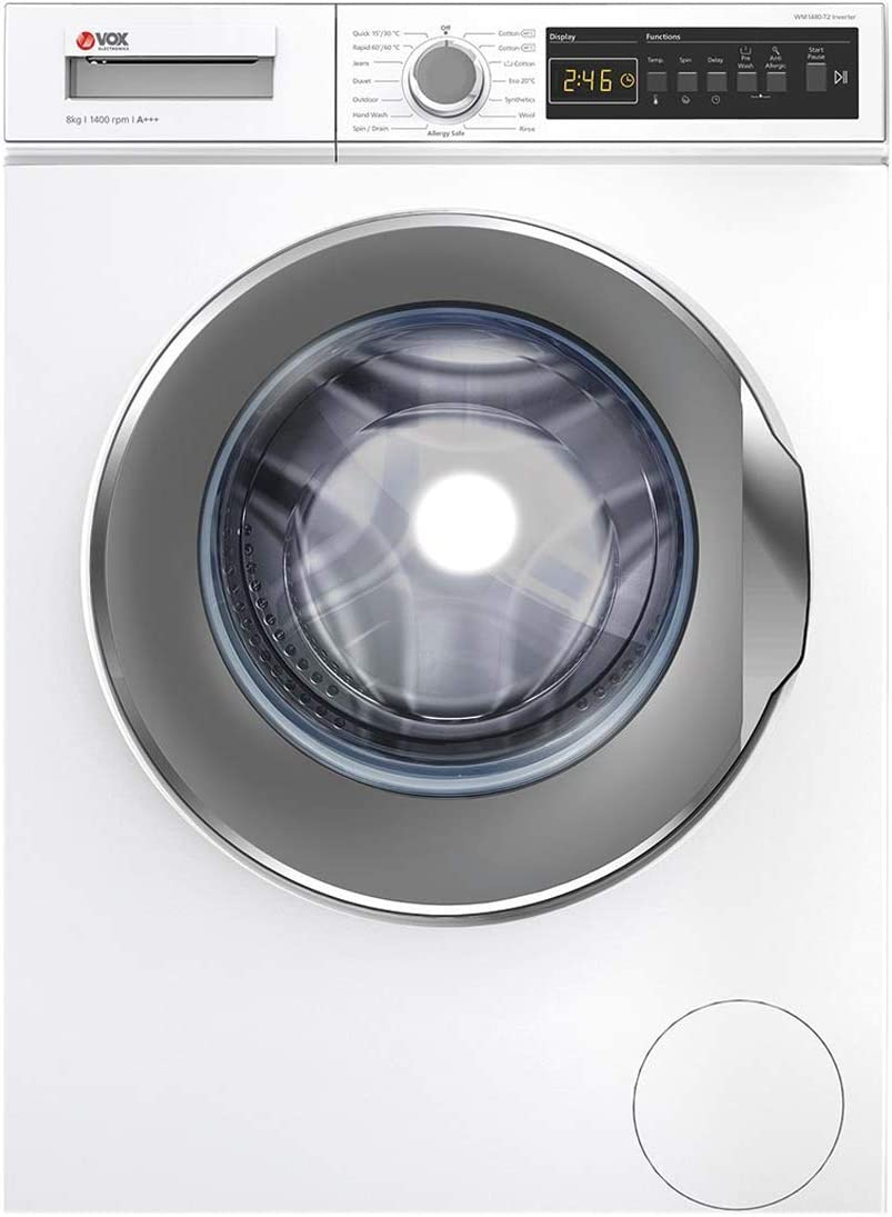 VOX LAVADORA 8KG 1400RPM WM1480T2 INVERTER