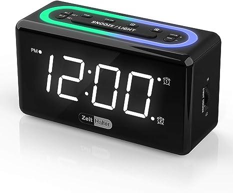 RCA Digital Alarm Clock with Night Light Free Shipping New