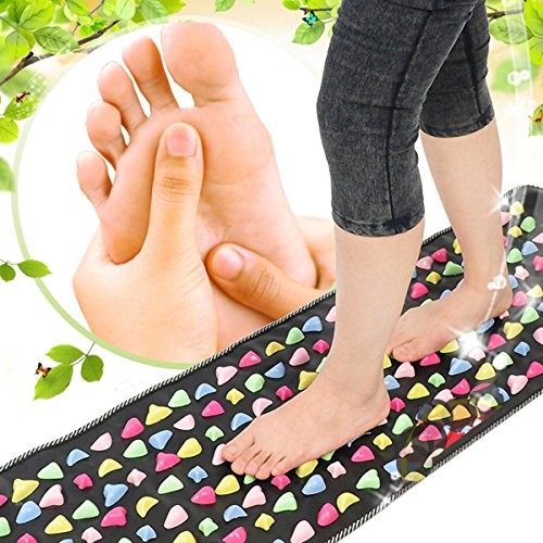 Walk Cobblestone Pain Relief Foot Massager 175X35cm Relax Pain 60%OFF