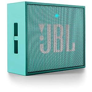 JBL Go Altavoz Bluetooth Recargable portátil con Entrada AUX, Compatible con Smartphones, tabletas y Dispositivos MP3, Color Cerceta