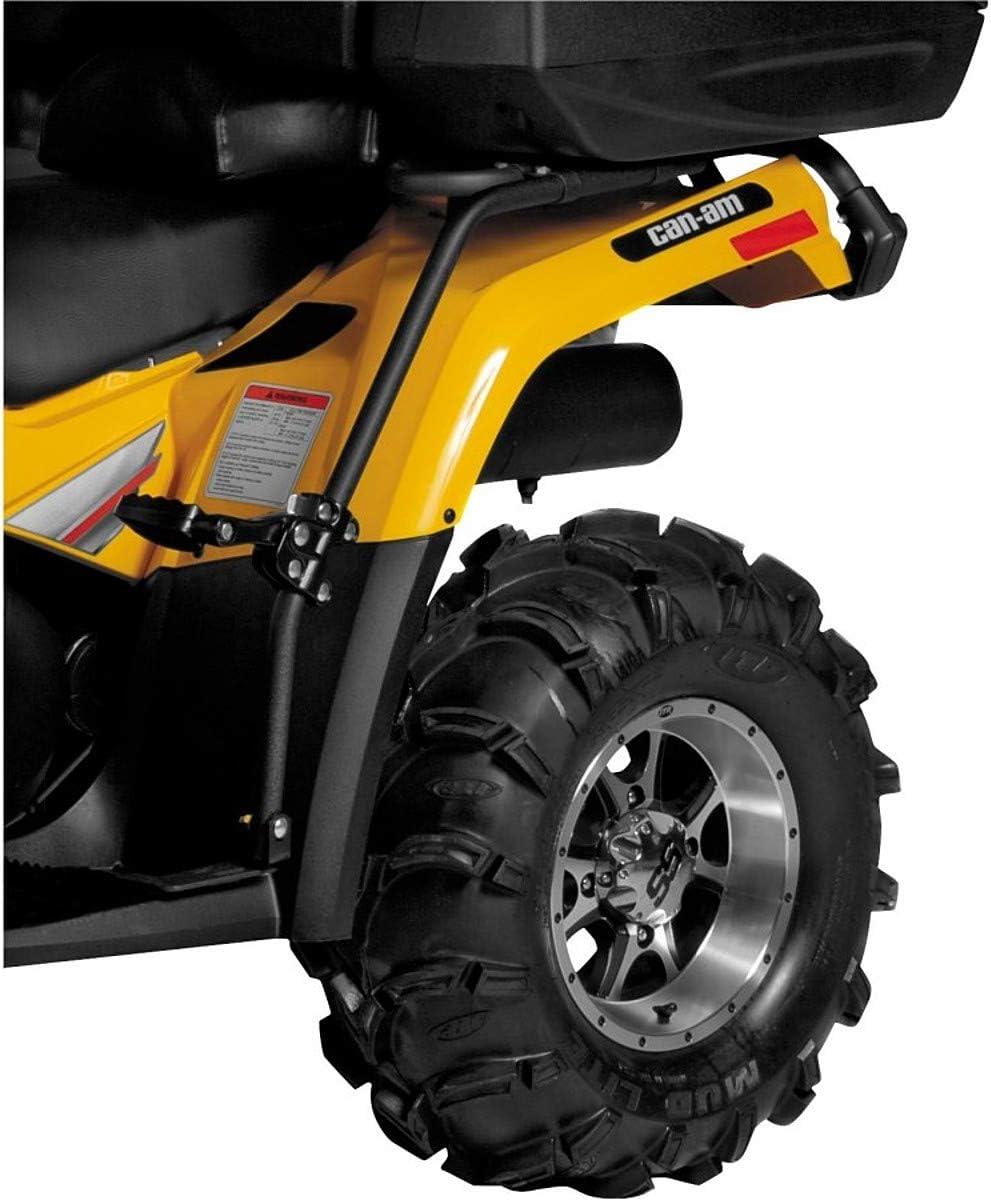 Quadboss 673299 ATV Rear Fender Protector w// Footpegs PAIR 2005-2012 Honda TRX