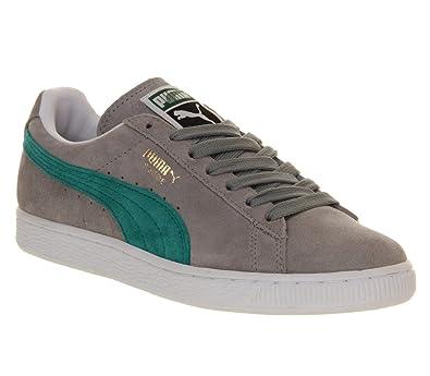 Grey Classic Blue Grass Exclusive Suede 3 Puma Uk Limestone qpR44t