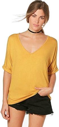 NAZ Fashion - Camisas - Manga Corta - para Mujer Amarillo ...
