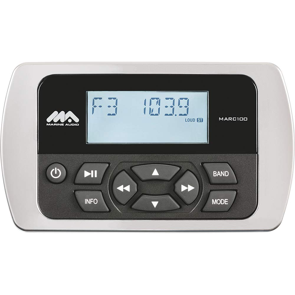 Marine Audio Wired Remote f/MA200 & MS2ARTL Stereo - Waterproof