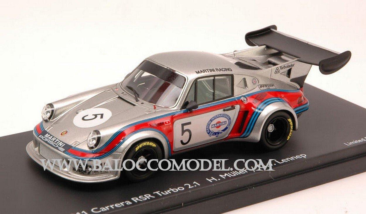 Schuco SH8900 Porsche 911 RSR Turbo 2,1 N.5 5th Brands Hatch 1974 1:43 DIE CAST