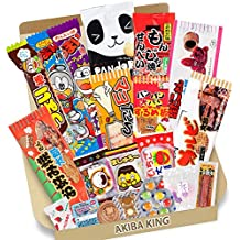 Trial Japanese Dagashi 20pcs Box 20pcs Umaibo Snack Gummy potato Chip Kitty chocolate w/AKIBA