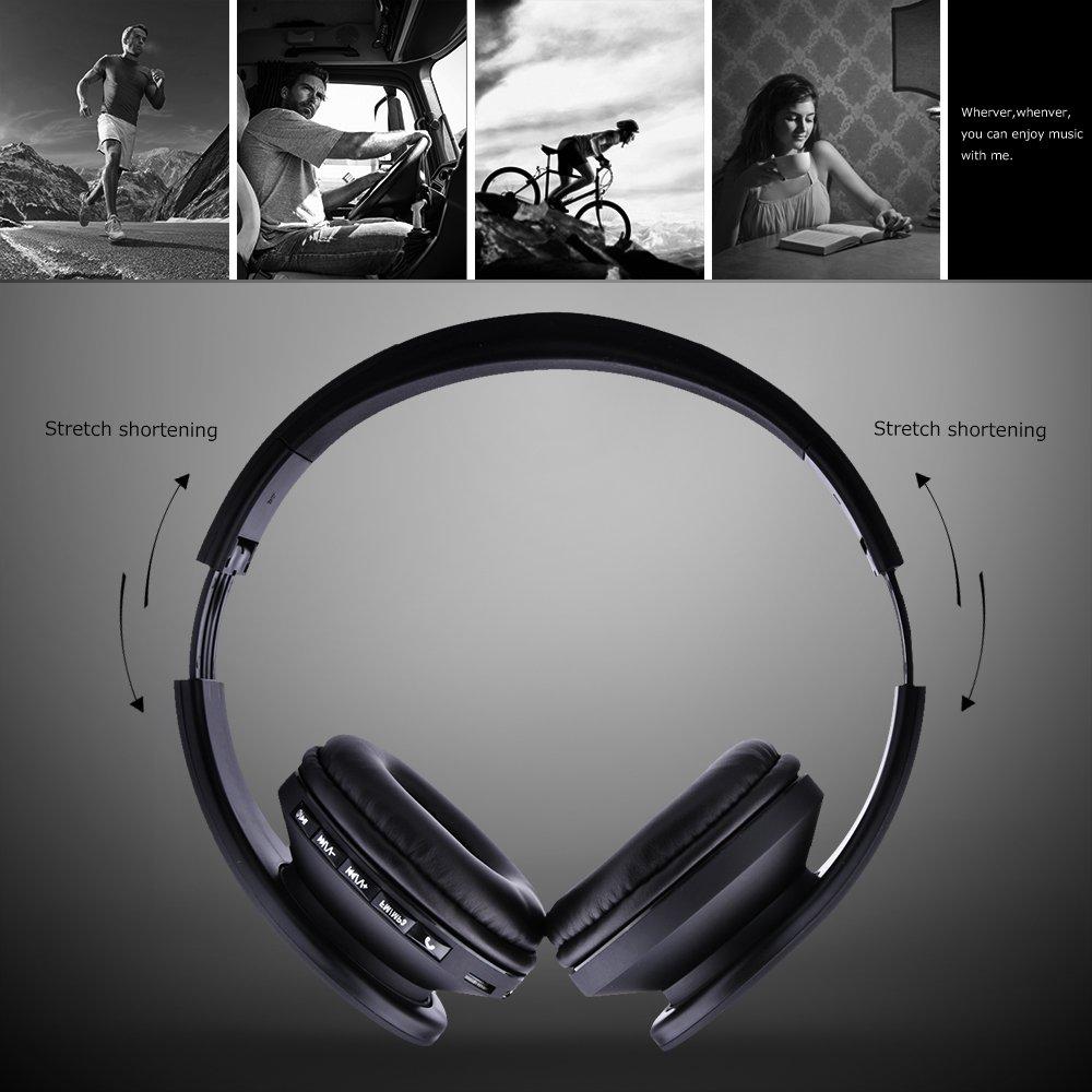 Funkkopfhörer,Sunvito 5 in 1 Faltbare Wireless: Amazon.de: Elektronik