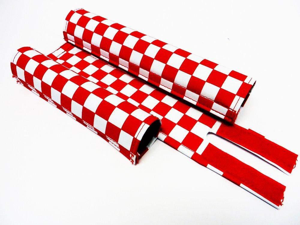 Flite BMX Pad Set Old School Checker Pattern