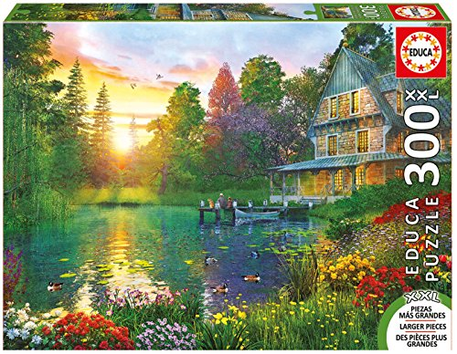 Educa Children's 300XXL Sunset with Grandpa Puzzle