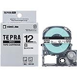 キングジム テープカートリッジ テプラPRO 12mm  SS12K