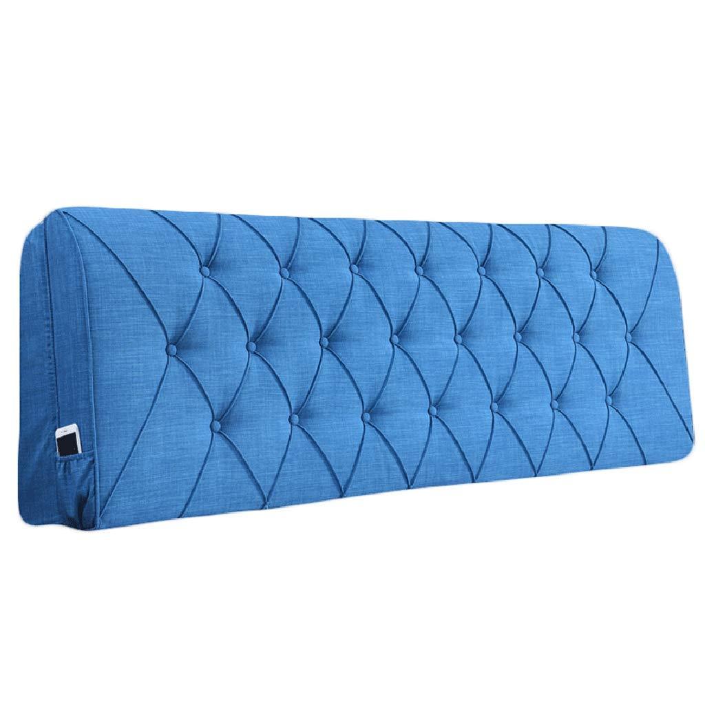 新発売の ベッドサイド クッション用ヘッドボードベッドサイド背もたれ大型枕ソファ布張り腰パッド 155x10x60cm|Royal、8サイズ、8色 (色 サイズ : オレンジ, サイズ さいず (色 : 160x10x60cm) B07RG8SHQW 155x10x60cm|Royal blue Royal blue 155x10x60cm, 雑貨屋マイスター:e26863db --- growtutor.com
