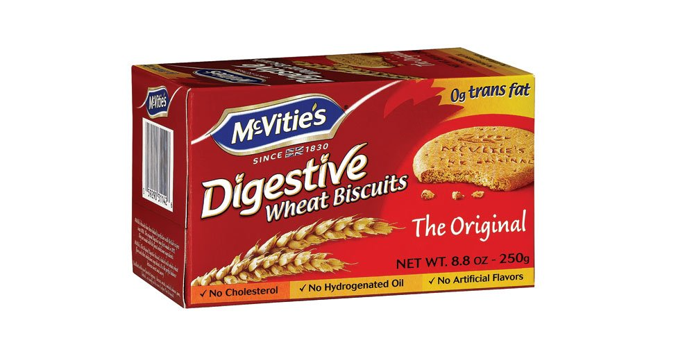 Digestive Wheat Biscuits 8.80 Ounces (Case of 12)