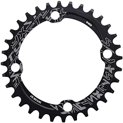DECKAS 104bcd 32//34//36//38T MTB Bike Chainring Narrow Wide Bicycle CNC Chainwheel