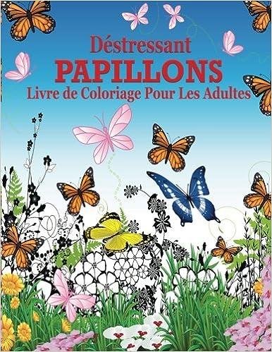 Livre à Télécharger Destressant Papillions Livre De Coloriage Pour