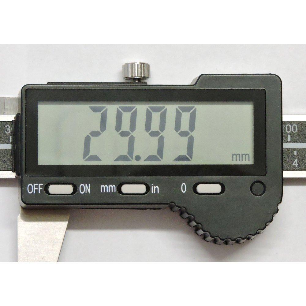STEINLE 1307 Digitaler Digital Messschieber Schieblehre mit Auto OFF 300 mm