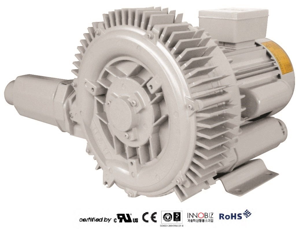 Pacific Regenerative Blower PB-302/1 (HRB-302/1), Ring, Side channel, Vacuum Pressure Blowers