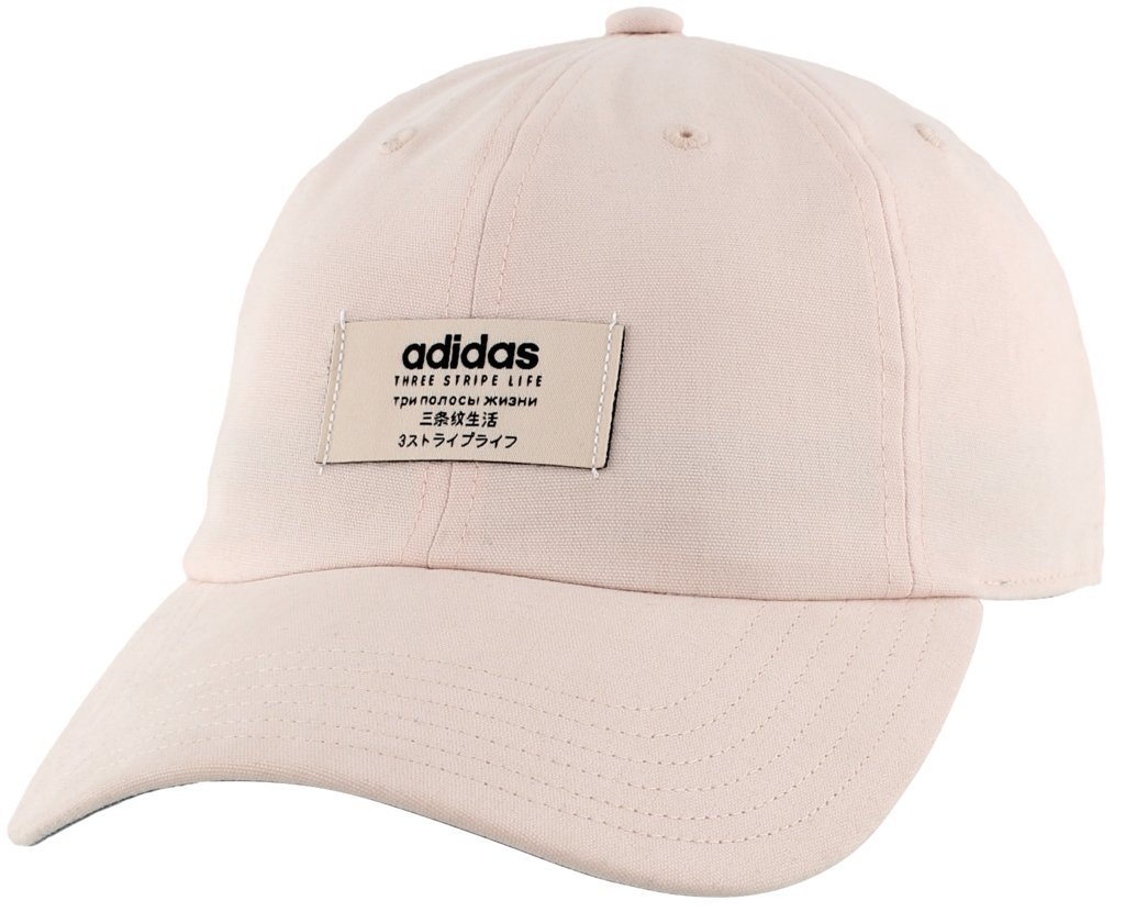 adidas Women's Impulse Relaxed Adjustable Cap, Lt Pink, One Size