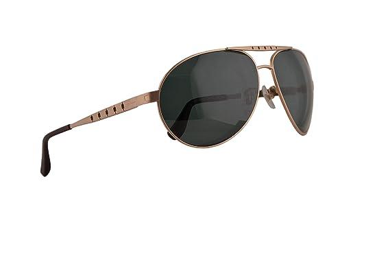 Chopard SCHB01M Sunglasses Oro Rosa Mate Con Lentes Verde ...