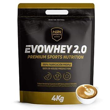 EVOWHEY PROTEIN 2.0 4Kg CAFFE LATTE: Amazon.es: Salud y ...