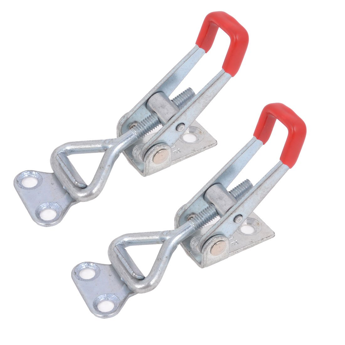 Uxcell (a14052800ux0036) 4001 100Kg 220-Pound Triangle Shaped Lever Latch Toggle Clamp, 2-Piece