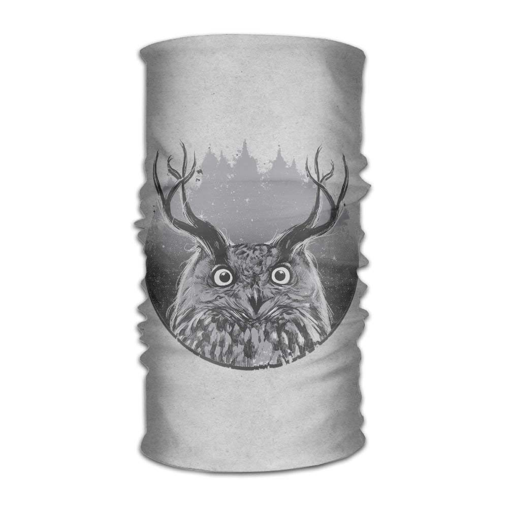 Owl Multifunctional Headwear Best for Running Cycling Hot Yoga and Athletic Workouts