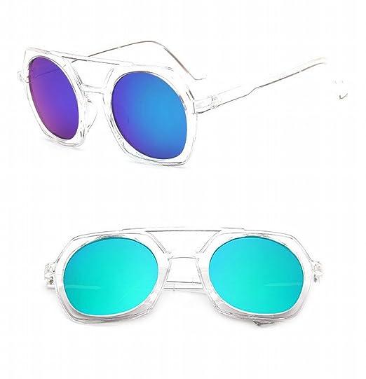 sonnenbrille arbeiten polygonale sonnenbrille Männer und frauen Doppelte sonnenbrille Große rahmen sonnenbrille transparenter kristall swsp7
