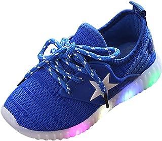 ZEZKT Baskets pour Bébé, Sneakers Unisexe pour Bébé Fille Garçon Crystal Noeud Papillon LED Bottes Lumineuses Sport Chaussures Antidérapant Mode pour Enfants Occasionnel Chaussures