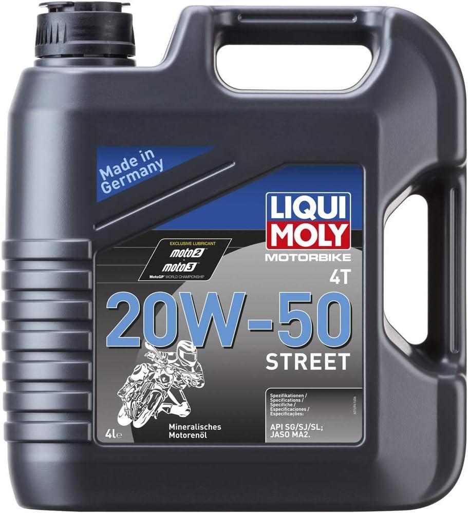 Liqui Moly 1696 Motorbike 4t 20w 50 Street 4 L Auto