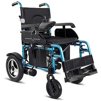 Hy Eléctrica Ruedas De Silla Wheel Powerchair Plegable Portátil eW2HDY9EI