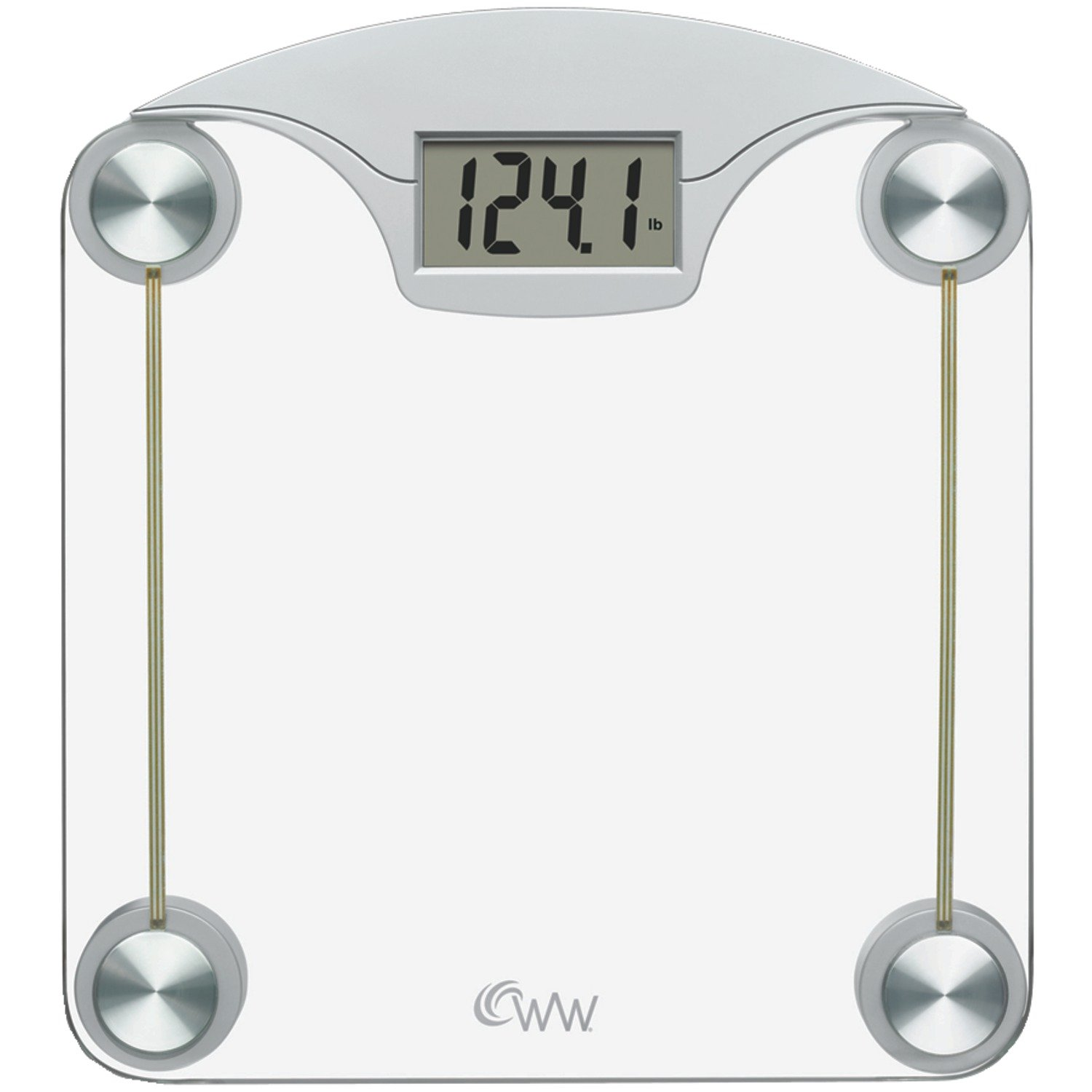 Amazon weight watchers by conair digital glass bathroom scale amazon weight watchers by conair digital glass bathroom scale 400 lb capacity high strength tempered safety glass bath scale health personal care nvjuhfo Images