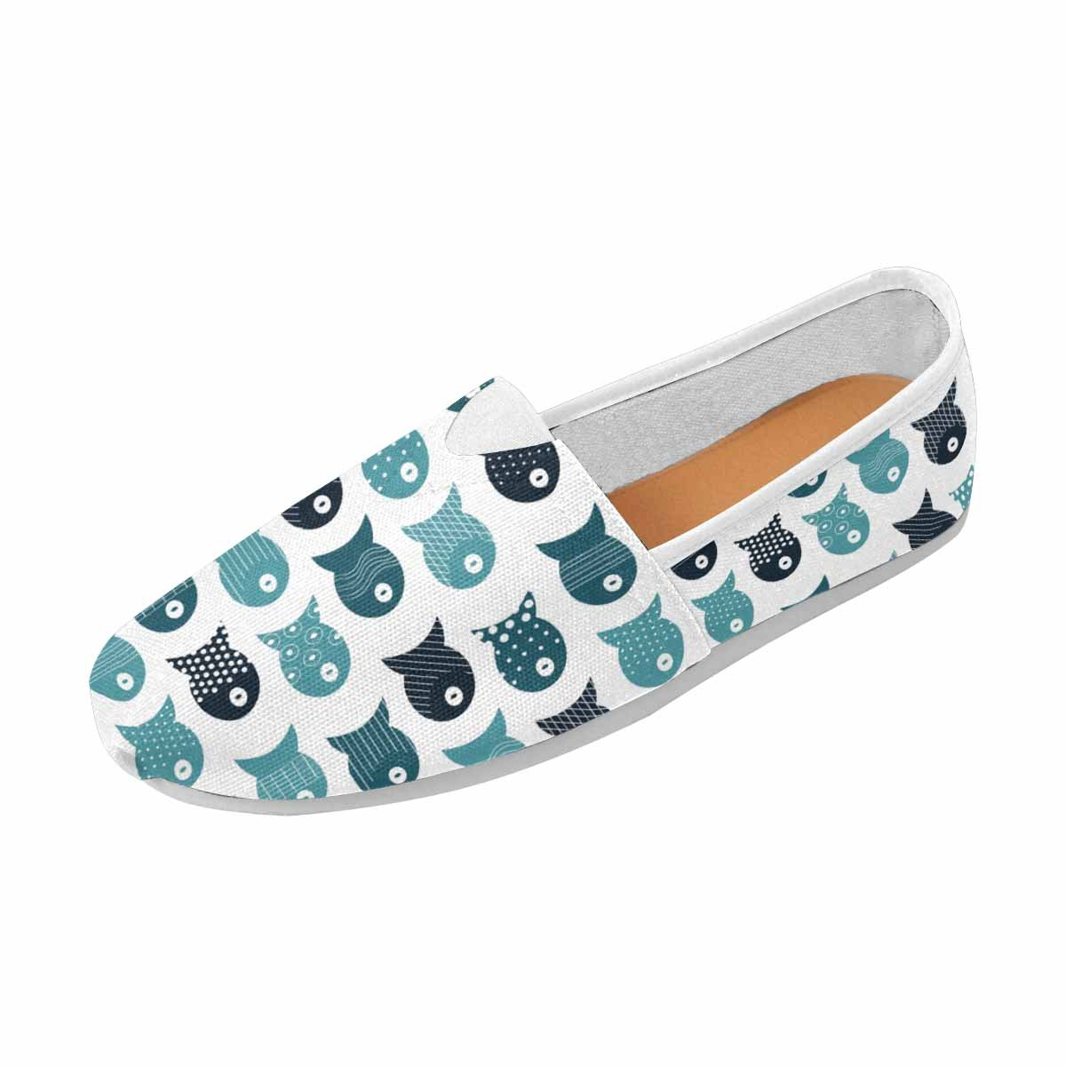InterestPrint Women's Loafers Classic Casual Canvas Slip On Shoes Flats US10 Pillows, Wallpapers, Cloth, Bags