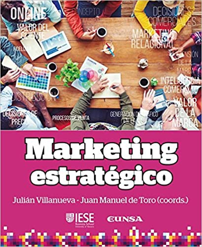 portada libro Marketing estratégico