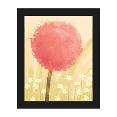 Amazon.com: Coral Clover: Puffy Pink Dandelion Flower Blossom in ...