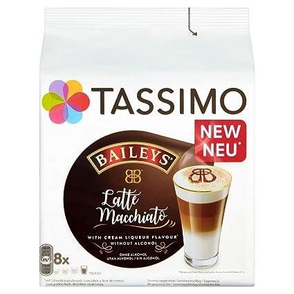 Tassimo Latte Machiatto Baileys Coffee Capsules
