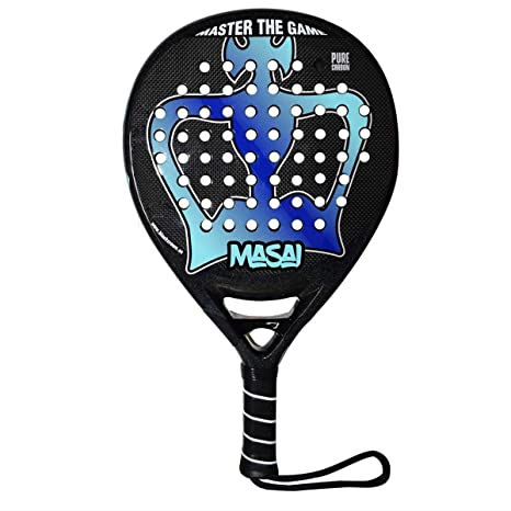 Pala de Pádel Masai - Black Crown: Amazon.es: Deportes y ...